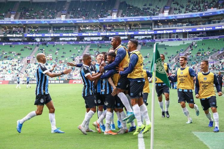 O Palmeiras precisa vencer o Imortal para encerrar o tabu no Allianz Parque (Foto: Lucas Uebel/Grêmio)