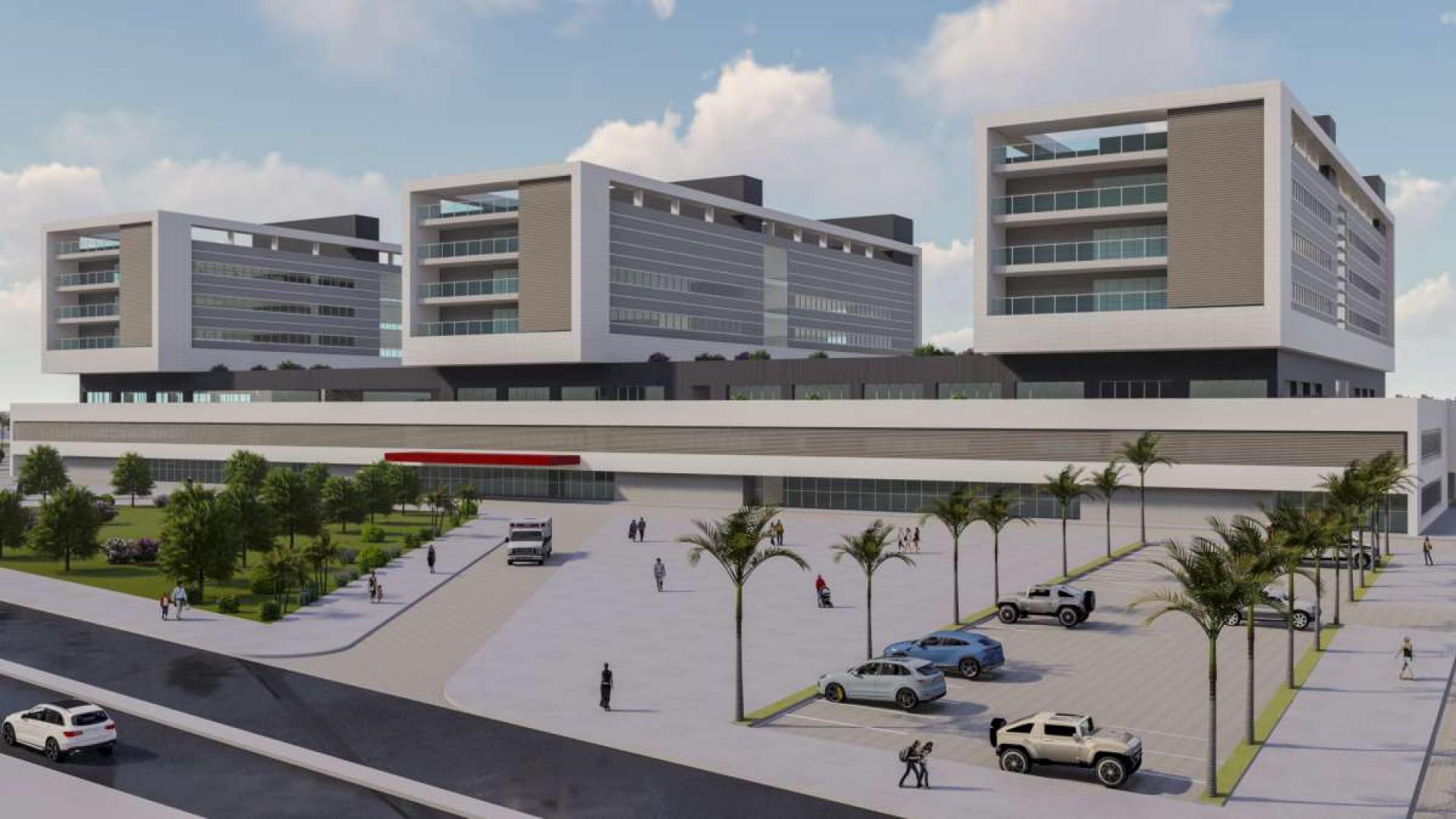 Obra do novo Hospital Universitário do Ceará vai custar R$ 274,7 milhões