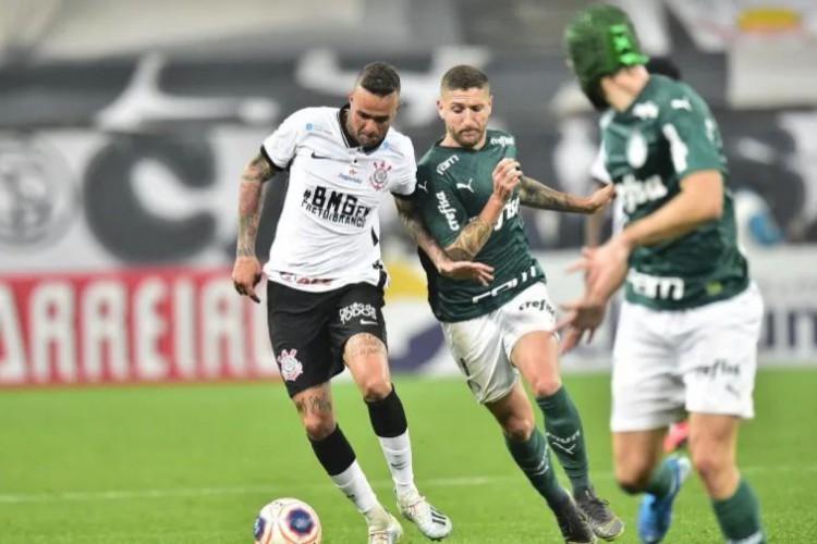 Palmeiras e Corinthians se enfrentam hoje, em jogo pelo Paulista 2021; você pode assistir à transmissão ao vivo em canal de TV fechada (Foto: Divulgação/ FPF)