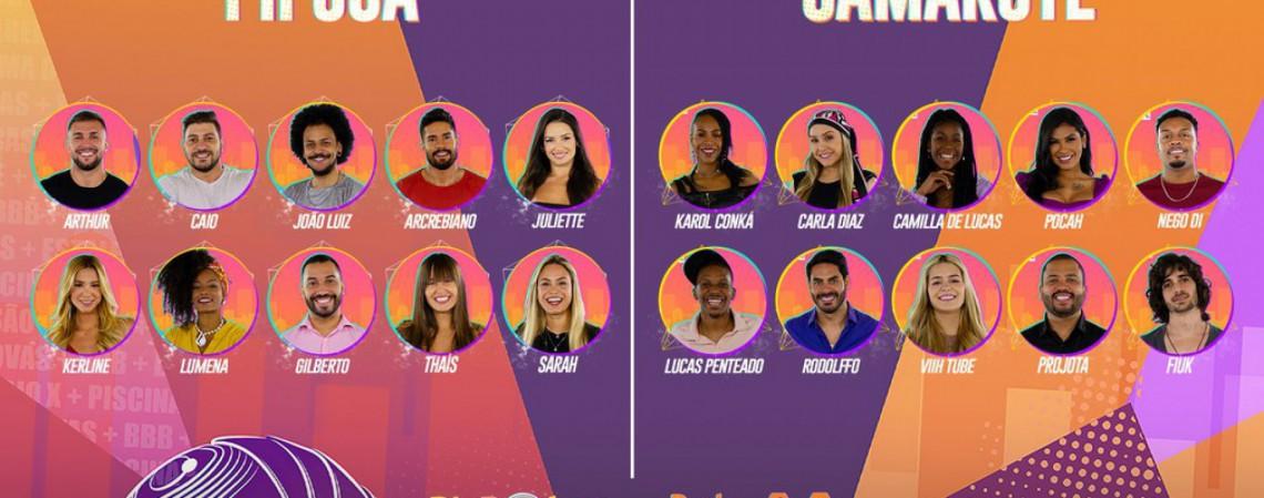 Confira lista completa de todos os participantes do Big Brother Brasil 2021 (BBB21) (Foto: Divulgação Globo)