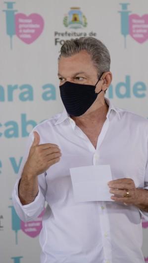 Prefeito comunicou ontem que fez o pedido ao Ministério da saúde (Foto: Aurelio Alves)