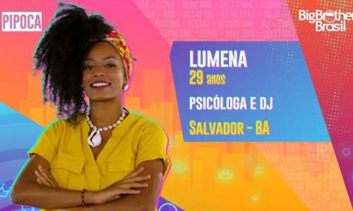 Lumena é psicóloga e DJ de Salvador