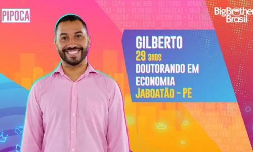Gilberto tem 29 anos e é doutorando em Economia; ele é natural de Jaboatão - PE