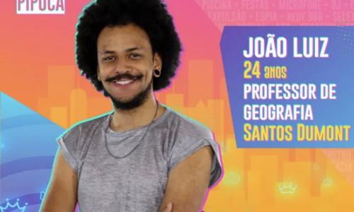 """João Luiz  é mineiro, professor de Geografia e já falou: """"O Big Brother não é um joguinho, vai ser meu grande jogo"""""""