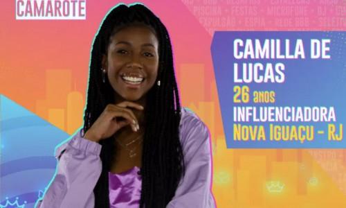 Camilla de Lucas é influencer de Nova Iguaçu, no Rio de Janeiro, e virou um fenômeno da internet no momento em que as pessoas mais buscavam conteúdos leves para se distrair