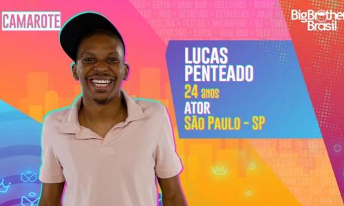 O ator Lucas Penteado tem 24 anos e é natural de São Paulo - SP