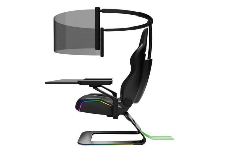 Project Brooklyn, uma cadeira gamer compacta e imersiva