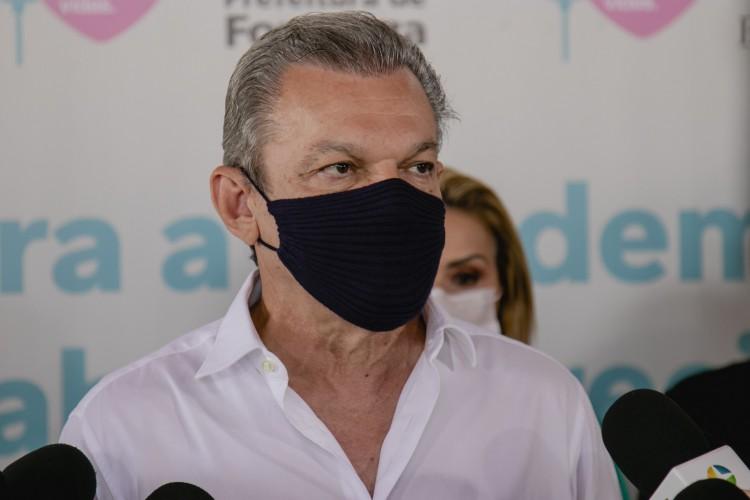 Sarto afirma que deve transformar ala da pediatria do IJF em enfermaria para Covid-19 (Foto: Aurelio Alves)