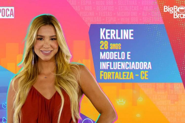 """Kerline está no grupo """"Pipoca""""  (Foto: Divulgação/BBB)"""