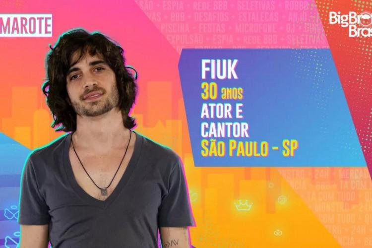 Ator e cantor foi o último anunciado do grupo Camarote (Foto: Divulgação/BBB)