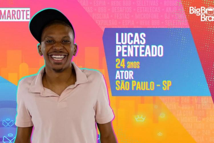 O ator Lucas Penteado tem 24 anos e é natural de São Paulo - SP (Foto: Divulgação/Rede Globo)