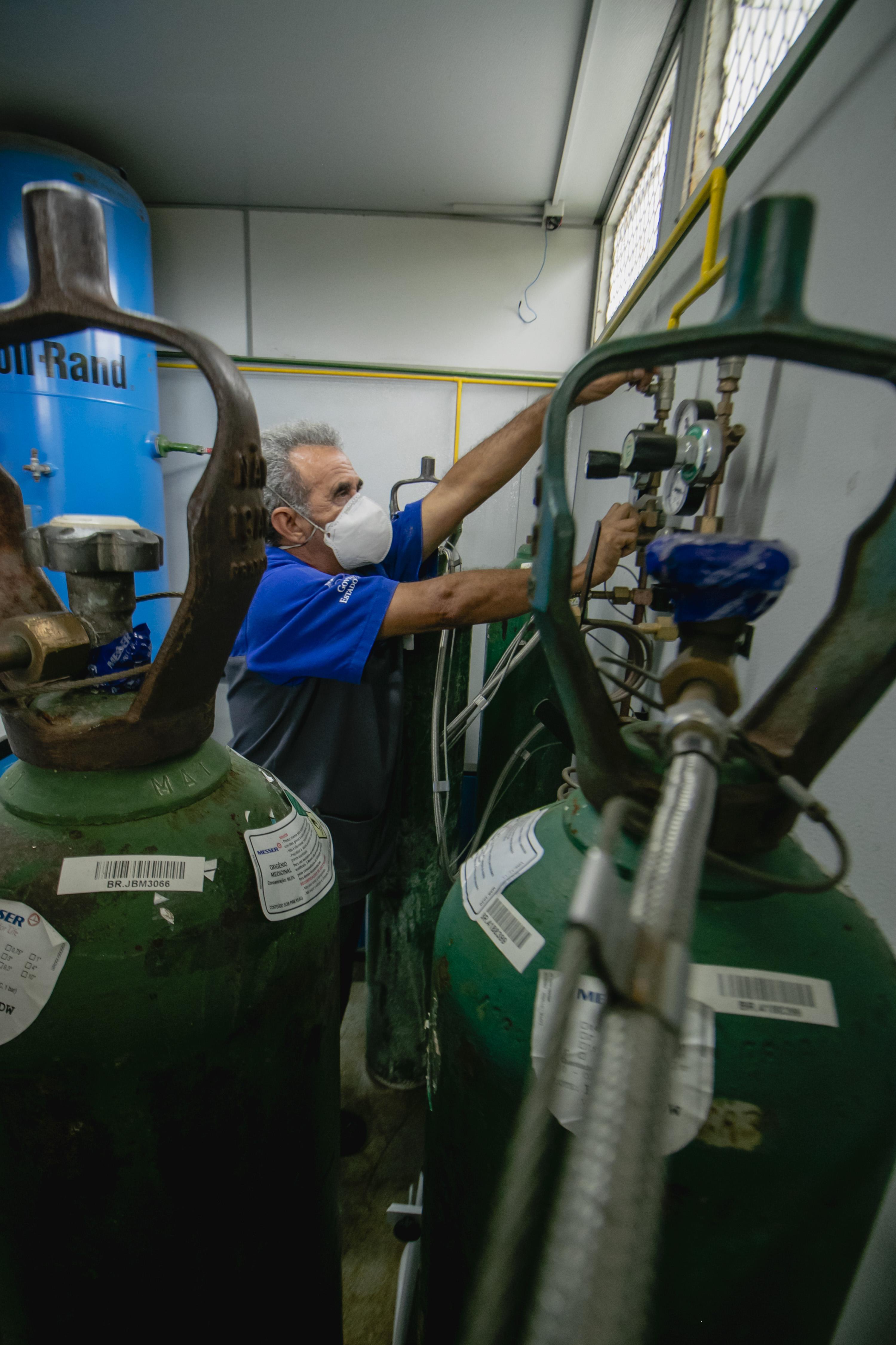 USINA de oxigênio da UPA do Edson Queiroz: agravamento da pandemia preocupa autoridades