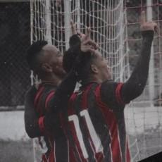 O Caucaia venceu o Pacajus por 3 a 2 pela Taça Fares Lopes (Foto: Reprodução/Twitter/Caucaia EC)