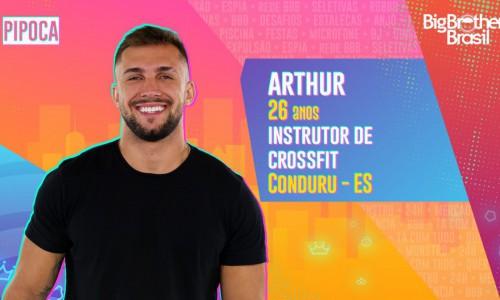 Arthur, participante do BBB21