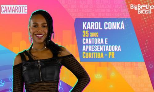 Karol Conka, participante do BBB21