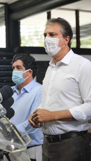 Camilo já demonstrou preocupações anteriormente com o aumento de casos de Covid-19 no Ceará. (Foto:  Deisa Garcêz/Especial para O Povo)