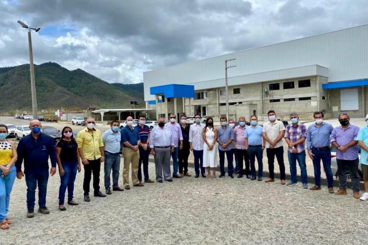 Visita ao Polo Químico de Guaiúba (Foto: Divulgação)