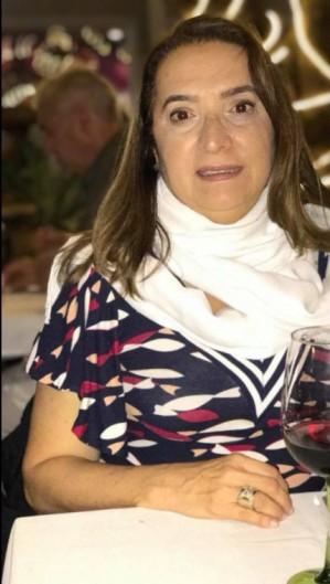 Cardiologista Lúcia Belém recebeu homenagens de amigos e familiares (Foto: WhatsApp/Acervo Pessoal)