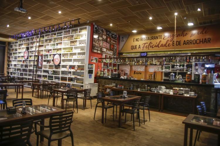 Restaurante foi inaugurado em 2016 e enfrenta dificuldades causadas pela pandemia (Foto: Thaís Mesquita) (Foto: FOTO: Thais Mesquita)