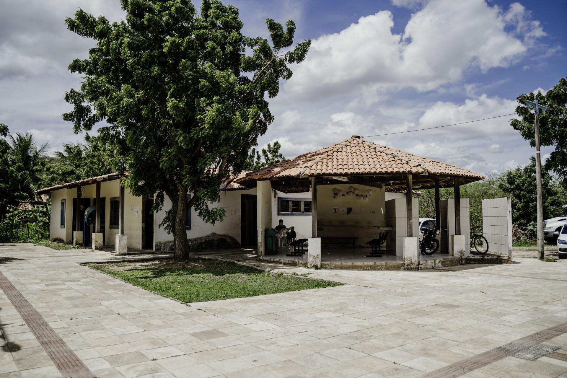 Posto de Saúde na reserva Pitagyary, em Maracanaú