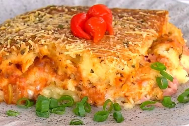 A receita de bauru no forno foi apresentada no programa Mais Você, no dia 25/01 (Foto: Reprodução TV Globo)