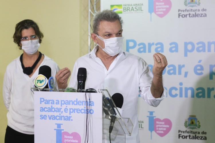 Prefeito de Fortaleza, José Sarto (Foto: Barbara Moira)