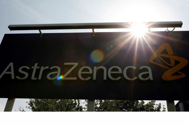 Logo da AstraZeneca em Macclesfield, na Inglaterra.AstraZeneca. (Foto: REUTERS/Phil Noble)