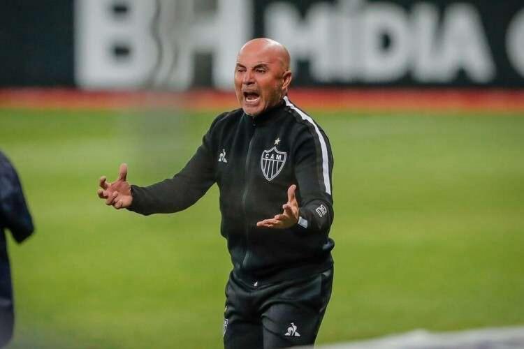 Jorge Sampaoli ainda não venceu o Fortaleza  (Foto: Bruno Cantini/Atlético-MG)
