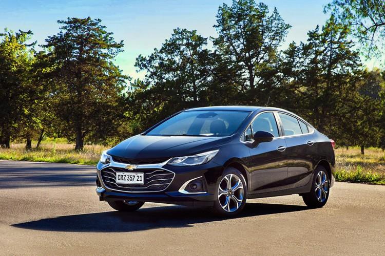 Novo Cruze, da Chevrolet, ganha visual mais esportivo (Foto: Divulgação/GM)