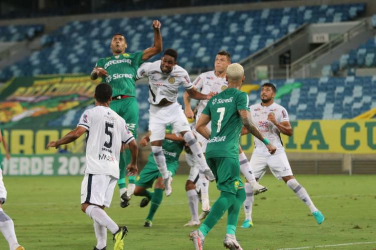 Após acesso à Série A, Cuiabá se classifica às quartas da Copa Verde (Foto: ASSCOM DOURADO)
