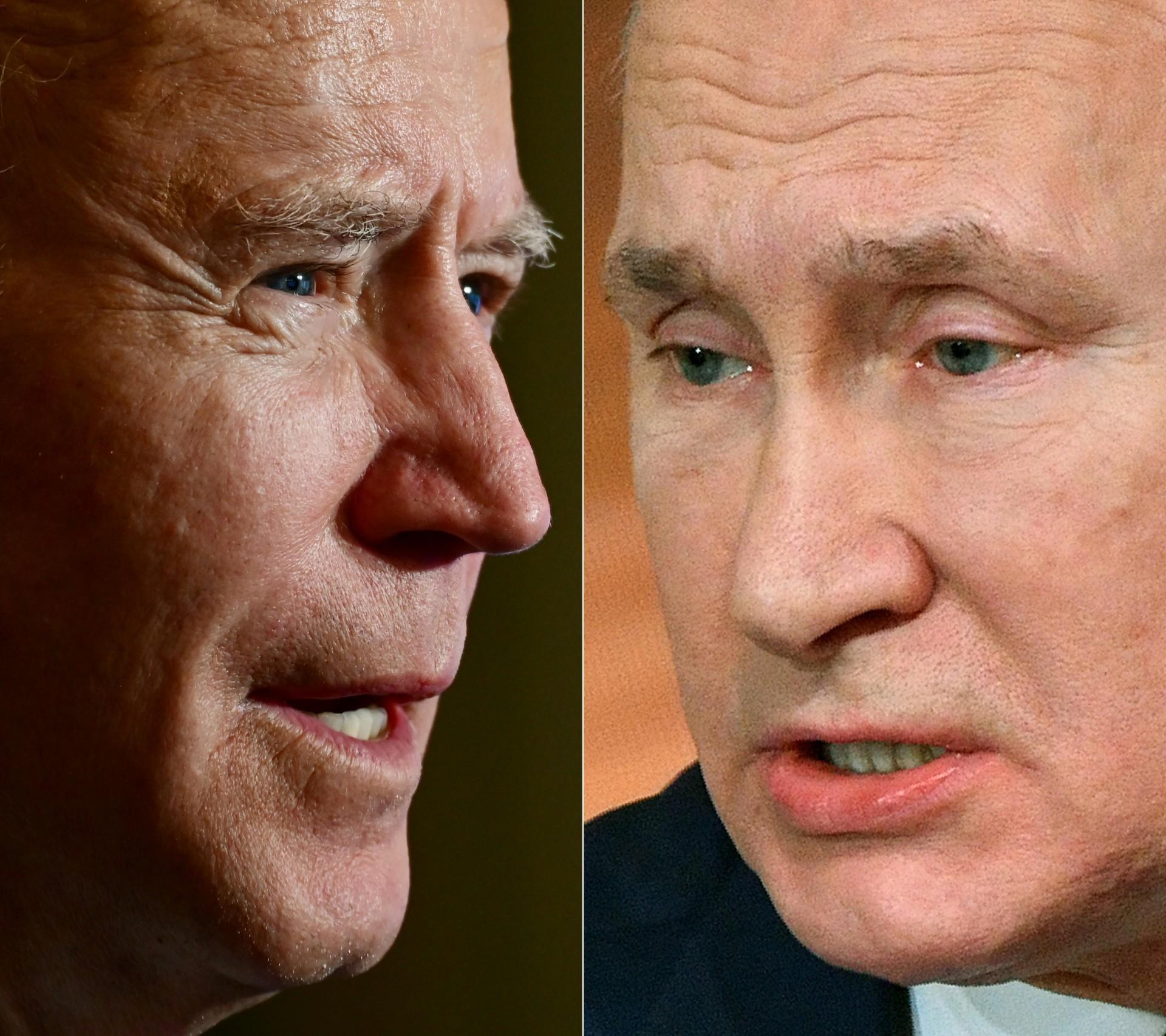 Presidente dos EUA, Joe Biden, ligou para presidente russo Vladimir Putin, em janeiro de 2021, pela primeira vez desde que assumiu o cargo, e levantou preocupações com o líder do Kremlin sobre o envenenamento do líder da oposição Alexei Navalny e sobre conflitos com a Ucrânia