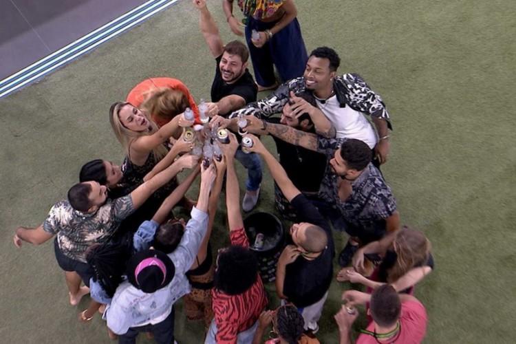 A 21ª edição do reality BBB21 teve início em 25 de janeiro (Foto: Reprodução GShow)