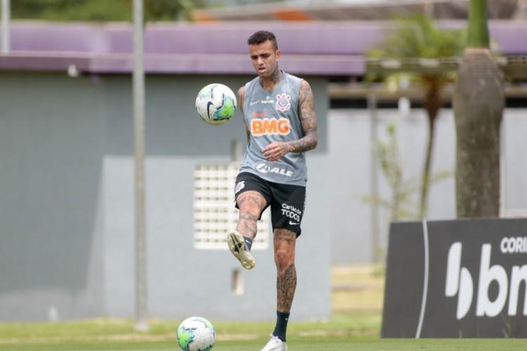Corinthians corrigiu informação sobre Luan e revelou não ter 100% dos direitos econômicos do jogador (Foto: Rodrigo Coca/ Agência Corinthians)