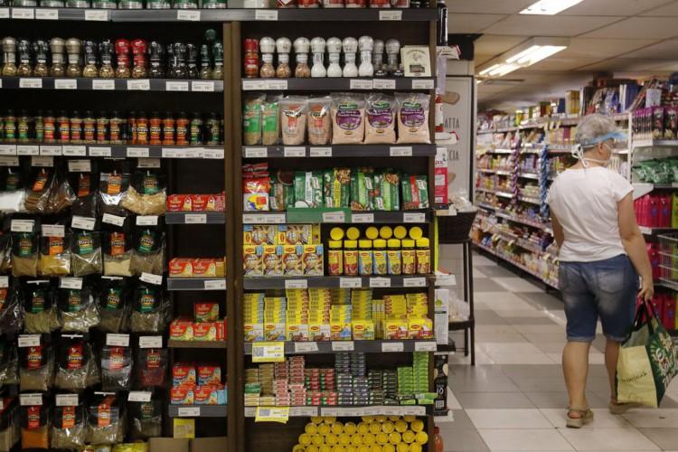 Supermercado na zona sul do Rio de Janeiro. (Foto: Tânia Rêgo/Agência Brasil)