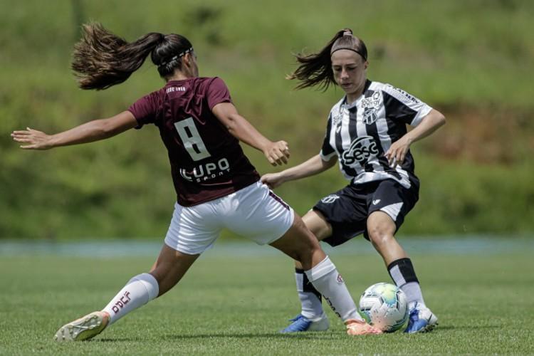 Ceará sofreu primeiro revés no Brasileirão Feminino Sub-18 2020 diante da Ferroviária-SP (Foto: Adriano Fontes/CBF)