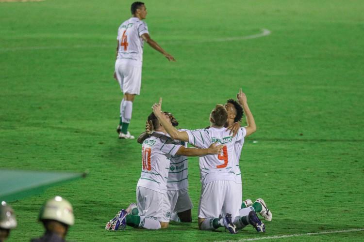 Juventude conquistou acesso à primeira divisão de 2021 e deixou CSA no meio do caminho (Foto: Fernando Alves/ ECJuventude)