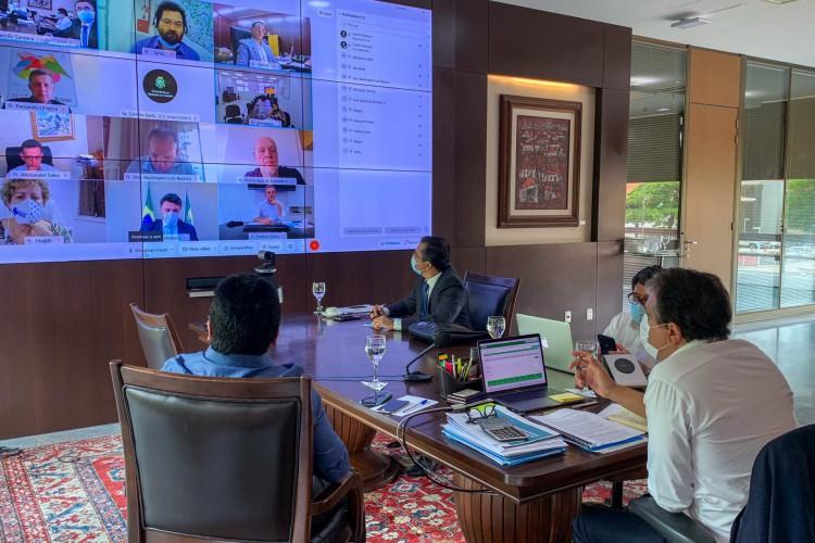 Comitê realizará reuniões para decidir sobre medidas mais restritivas no Estado (Foto: (Foto: Divulgação/Twitter))
