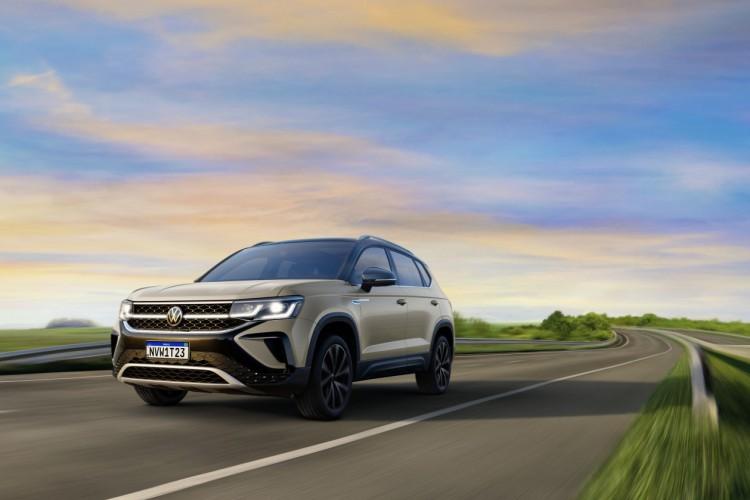 Taos, novo SUV da Volkswagen, chega até junho (Foto: Divulgação/Volkswagen)