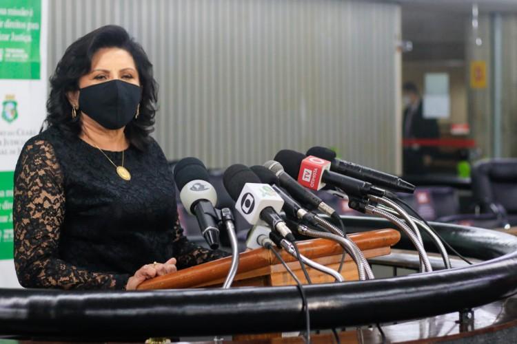 Desembargadora Nailde Pinheiro assume presidência do TJCE para o biênio 2021-2023  (Foto: Bárbara Moira)