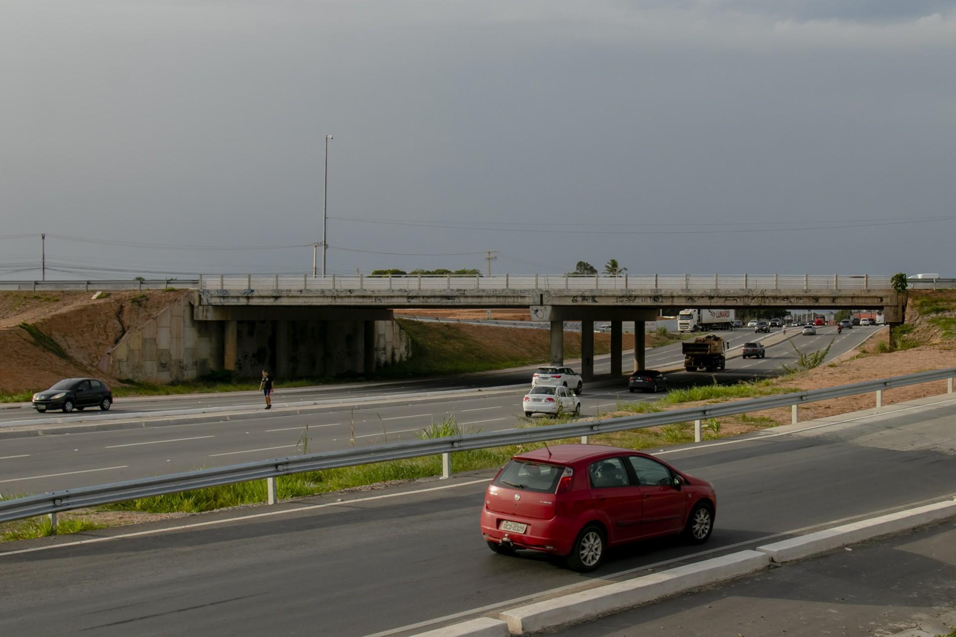 UM DOS trechos concluídos pelo Dnit foi o viaduto que conecta a BR-020 e a CE-010