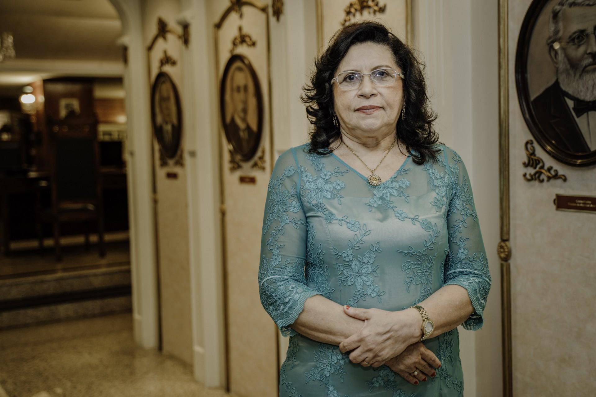 Desembargadora Nailde Pinheiro Nogueira, presidente do Tribunal de Justiça do Ceará