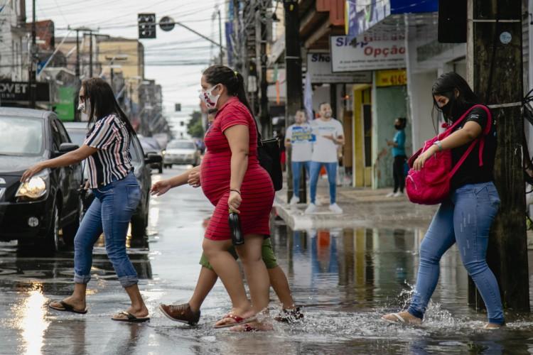 São esperadas chuvas rápidas e fracas nos próximos dias (Foto: Aurelio Alves)