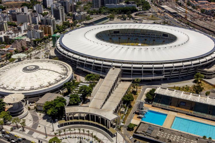 Daniel Basil - PORTAL DA COPA - Rio de Janeiro - Maracanã - Fevereiro de 2014.Detalhes da permissão.This photograph was produced by the official website of Portal da Copa. The website states: