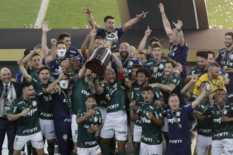 Palmeiras é bicampeão da Copa Libertadores e se classifica para Mundial de Clubes (Foto: )