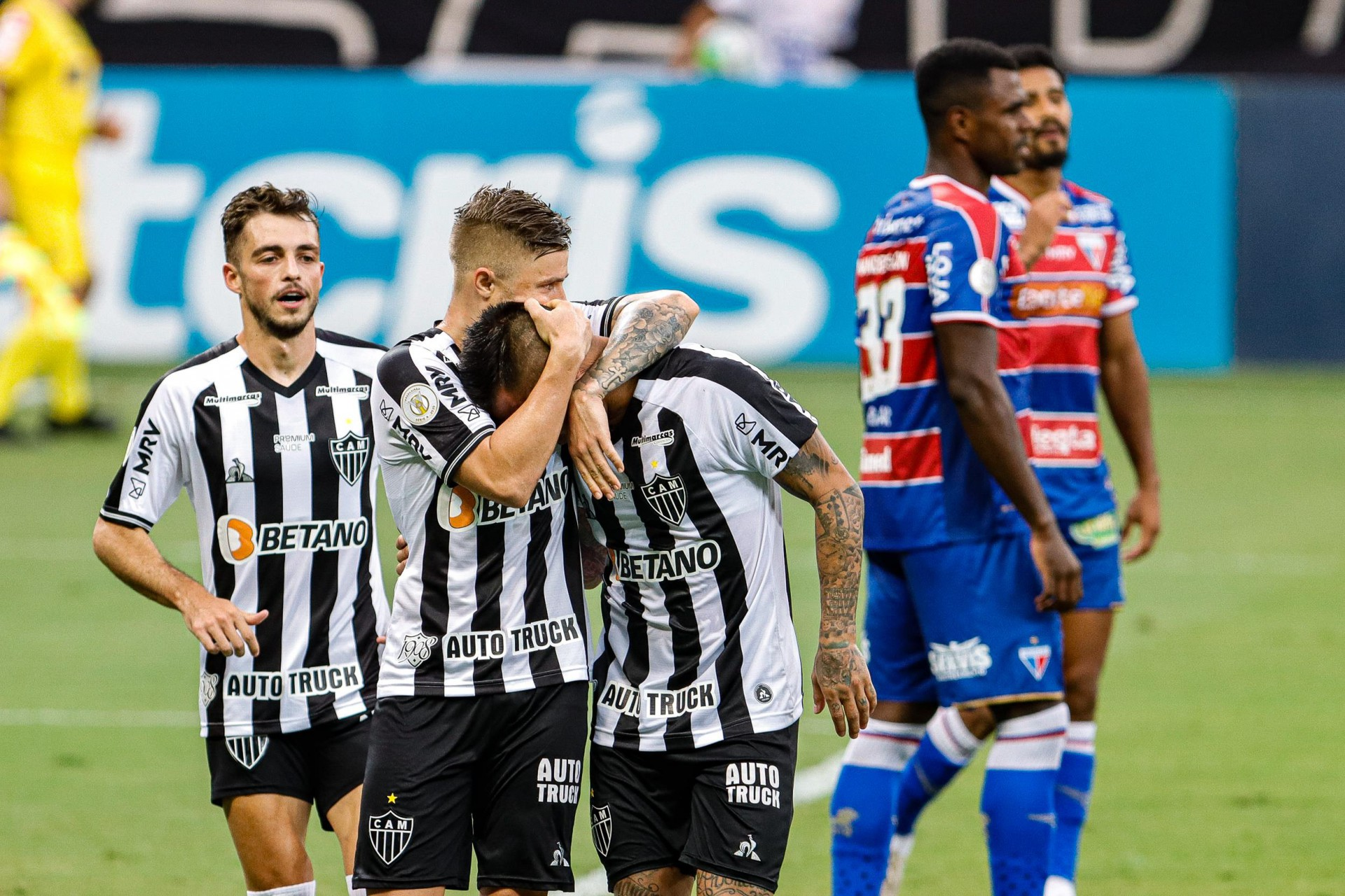 NO MINEIRÃO, o Atlético-MG fez 2 a 0 no Fortaleza