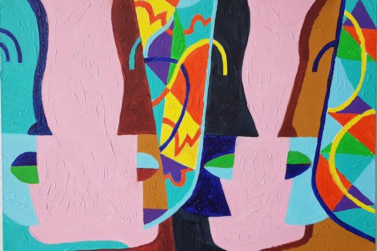 Obras do artista visual Antenor Lago, baiano radicado no Ceará, faz parte do 2º Momento Farben da Galeria Farben Design Haus (Foto: Divulgação/Antenor Lago)