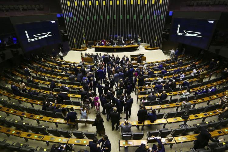 Sessão para eleição dos membros da mesa diretora da Câmara dos Deputados. (Foto: Marcelo Camargo/Agência Brasil)