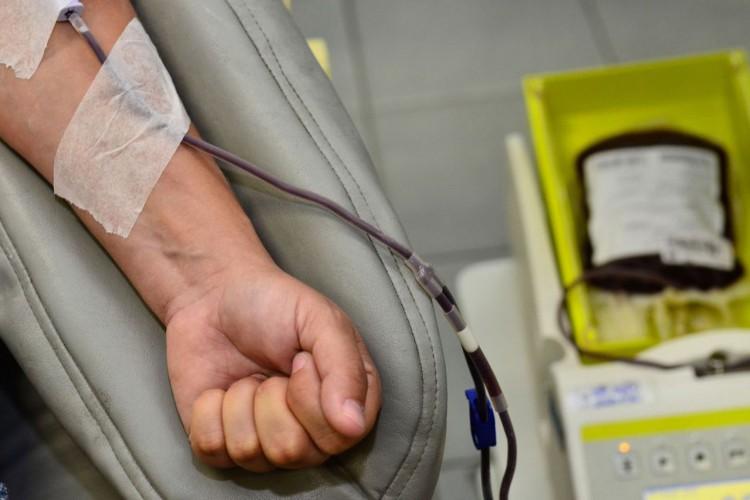 Ministério incentiva doação de sangue antes de imunização contra covid (Foto: )