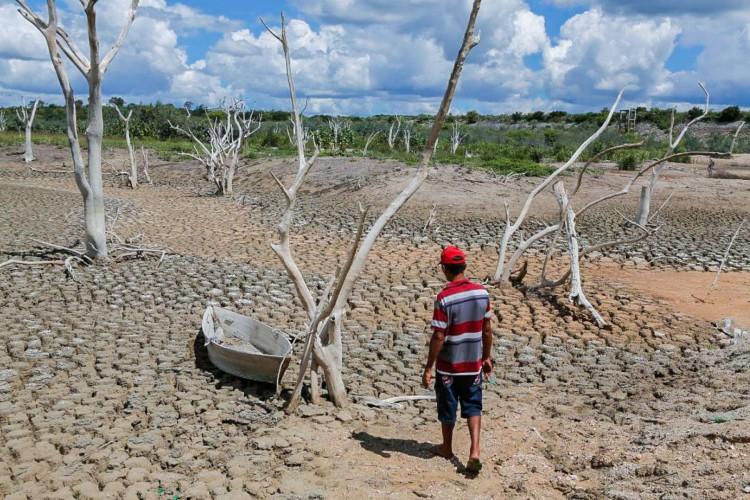 A Defesa Civil Nacional reconheceu situação de emergência devido à ausência de chuvas em três municípios cearenses: Cascavel, Independência e Santa Quitéria(foto: Fco Fontenele)