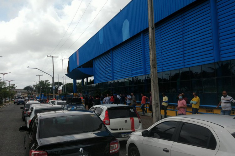 Manifestação aconteceu nesta segunda-feira, 1º (Foto: Reprodução/Rádio O POVO CBN)